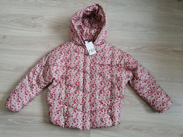 Куртка паффер zara 12 - 14 164 zara деми розы цветы