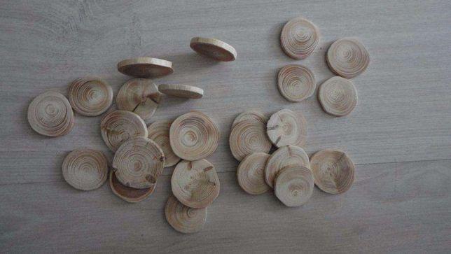 Деревянные заготовки для рун, срез сосновый