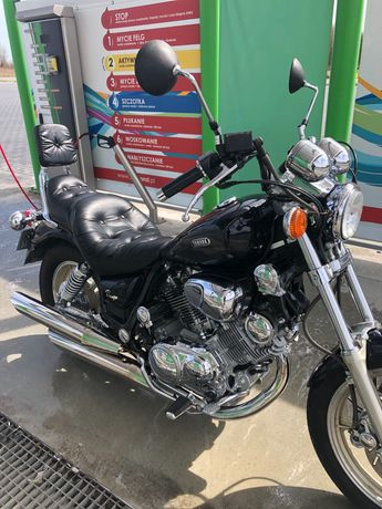 Yamaha Virago 1100 - 9180  km od nowości