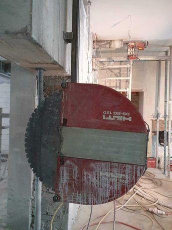 Wiercenie i ciecie w betonie (świętokrzyskie, małopolskie i okoliczne)