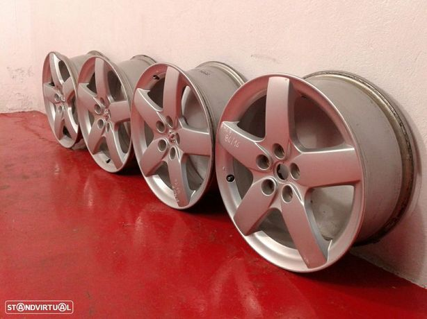 Conjunto De Jantes Peugeot 407 (6D_)
