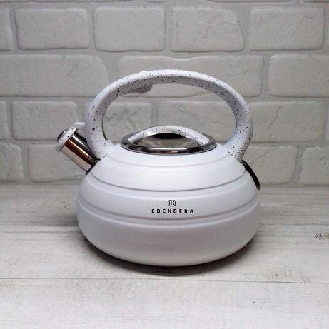Чайник со свистком Edenberg EB-8841