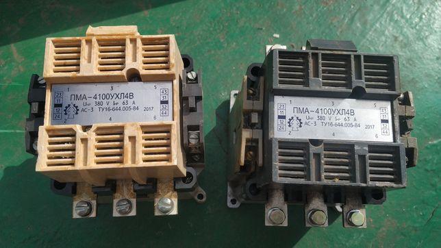 Магнитный пускатель ПМА 4100; ПАЕ512 110В, 220В , 380В