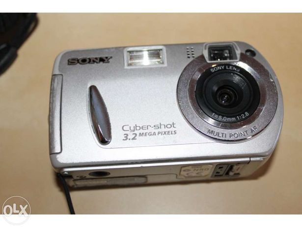 Máquina fotográfica Sony - Antiga
