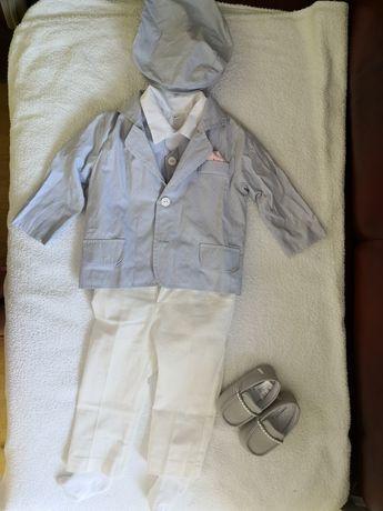 Ubranko do chrztu dla chłopca r. 74