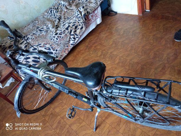 """Велосипед кроссовый Spelli GALAXY HYBRID 28"""""""