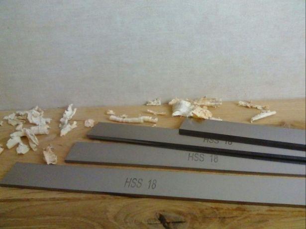 Nóż noże do strugarki wyrówniarki grubościówki 410x35x3 HSS 18%W !!!