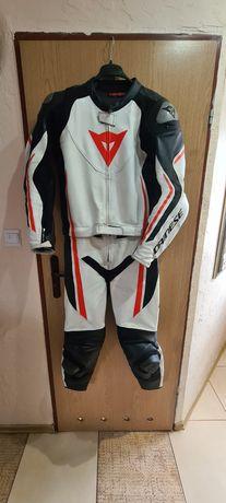 Dainese Assen strój kombinezon motocyklowy skóra 2 częściowy jak nowy