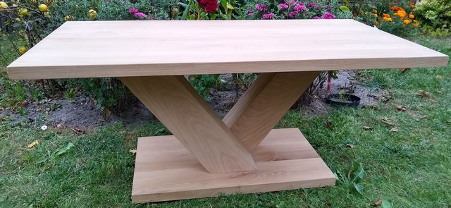 Stół,ława,stolik kawowy,dębowy,drewniany,nowoczesny,industrialny