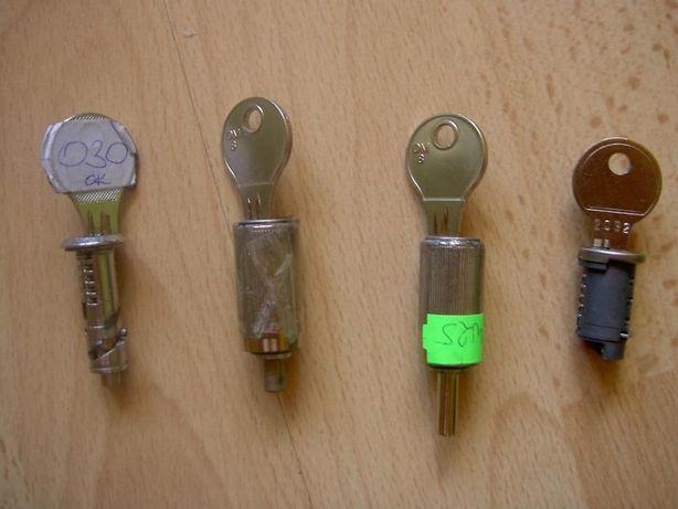 Wkładka zamka do haków hol. z kluczykami Westfalia,Oris,Bosal,Thule