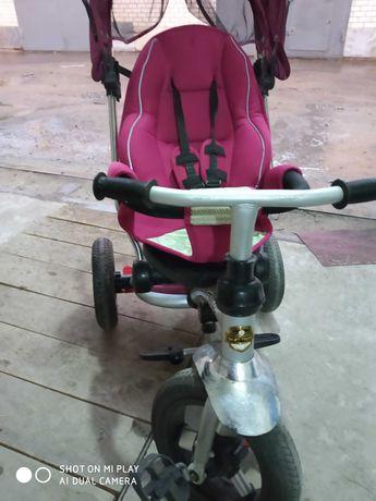 Продам велосипед коляска трёхколёсный