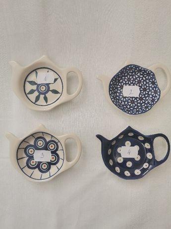 podstawka pod herbate Ceramika Bolesławiec