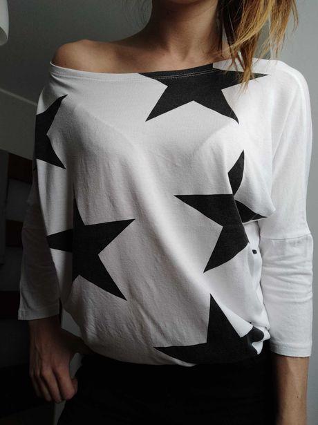 Koszulka luźna gwiazdy