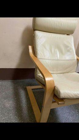 Ikea poäng fotel że skóry pokój dziecięcy lub dzienny