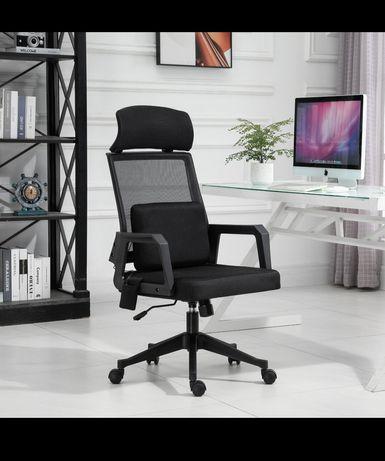 Fotel biurowy z masażem