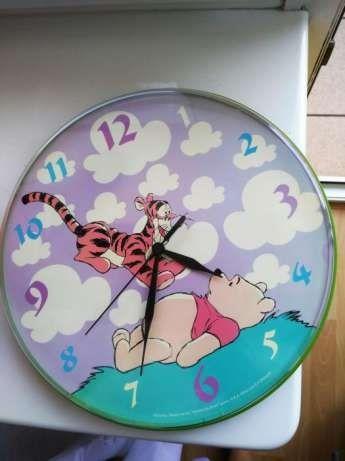 Zegar ścienny na ścianę dla dzieci PUCHATEK