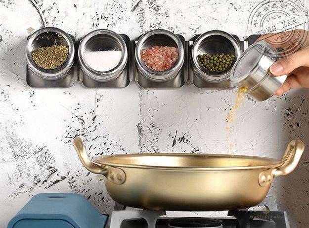 przyprawy kuchenne dozowniki pojemniki przyprawniki