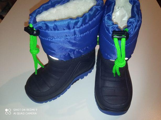 Зимові сноубутси, сапожки, ботінки 21-22р. Impidimpi 13,2 см