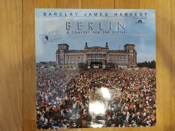 Barclay James Harvest, Berlin-A Concert For The People, Ger, 1982, db+