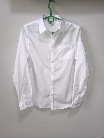 Шкільна біла сорочка