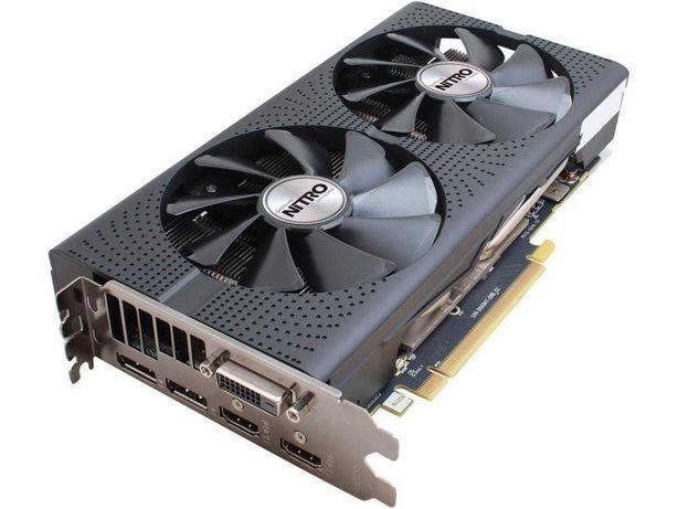Видеокарта RX 480 8Gb Sapphire Nitro+ OC (256bit GDDR5)