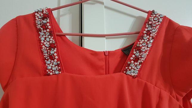 Bpc śliczna sukienka r.48