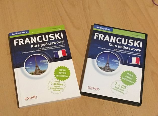 Kurs francuskiego książka + płyta