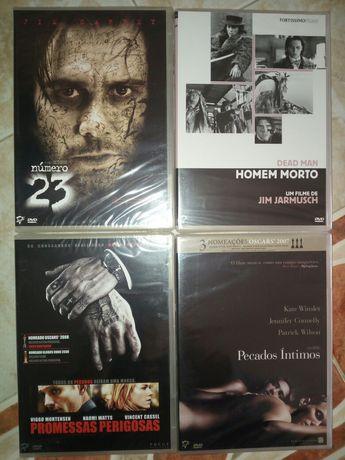 Filmes DVD originais e selados