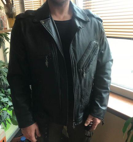 Продам куртку мужскую harley davidson (оригинал, кожа)