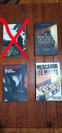 Livros de vários autores