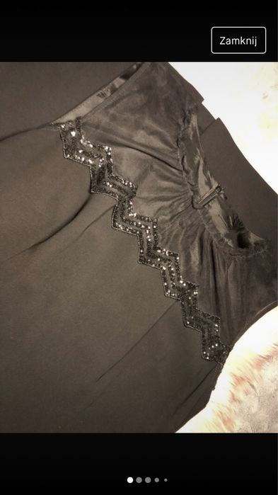 Sukienka czarna elegancka Szczecin - image 1