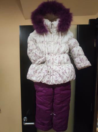 Зимний костюм на девочку 5-6лет