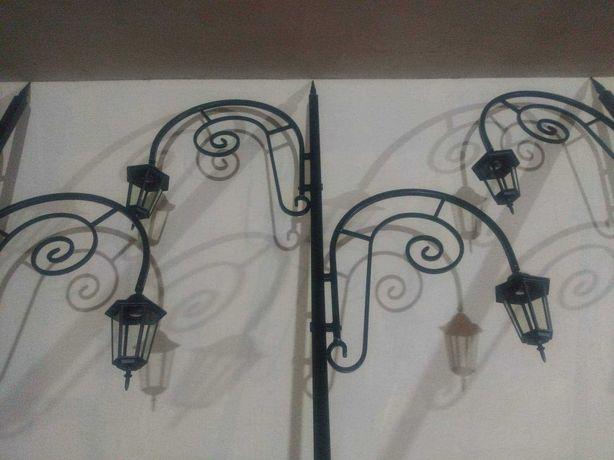 Latarnie ogrodowe, lampy