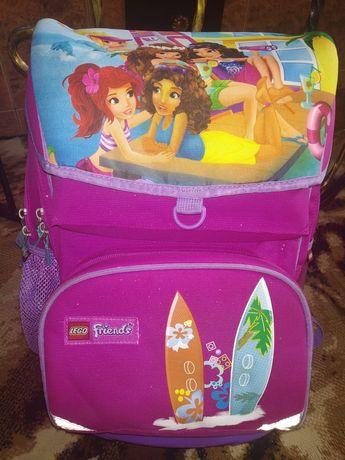 Рюкзак ортопедический для девочки в школу  Lego Friends