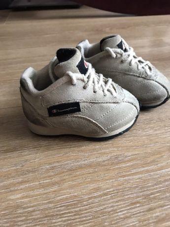 Кросівки для малюка Чемпіон, настоящий замш, ортопедичні, розмір 18