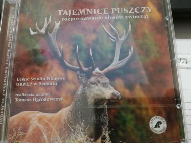 CD ,,Tajemnice Puszczy. Rozpoznawanie głosów zwierząt''