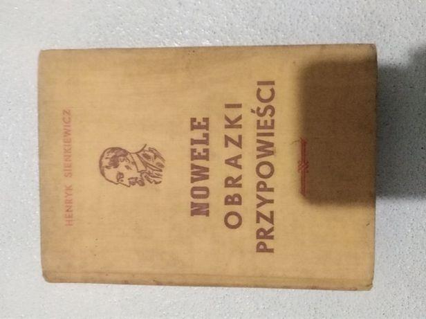Nowele obrazki przypowieści rok wydania 1949