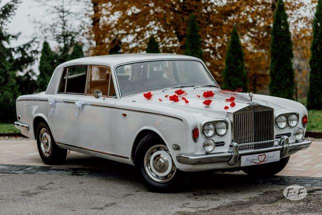 Rolls Royce auto do slubu na studniowke