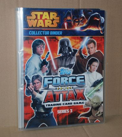 Topps STAR WARS Force Attax Seria 3 (filmowa) - Album + komplet kart