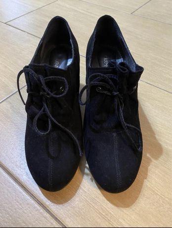 Кожаные туфли 40 размер Blue Tempt