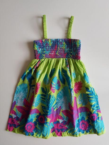 Sukienka letnia r. 116