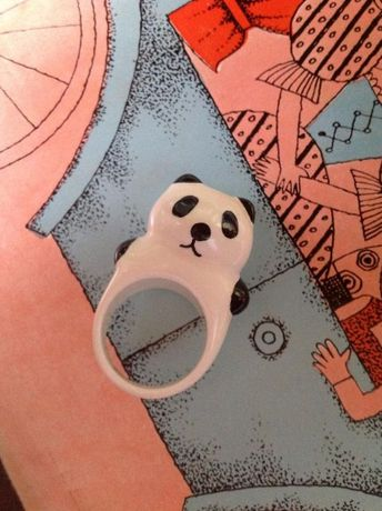 Кольцо-Панда!