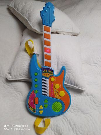 Gitara grająca  zabawka muzyczna