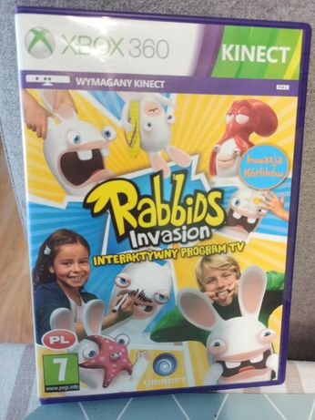 Rabbids Invasion xbox 360 kinect