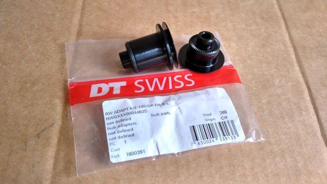 Колпачки DT Swiss QR (5х135мм), новые