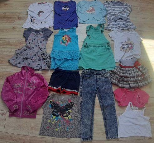 Ubranka dla dziewczynki rozmiar 104