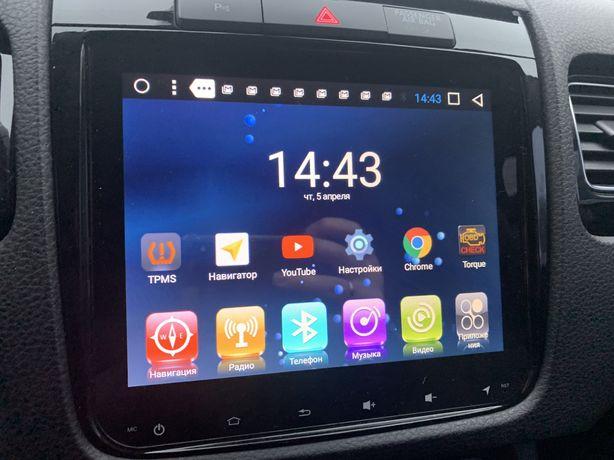 Volkswagen touareg магнитола Android gps + камера заднего вида