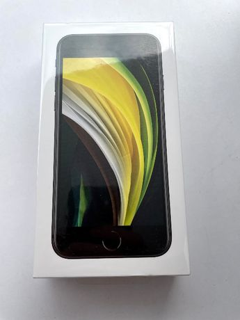 Apple iPhone SE 2020 64gb black nowka