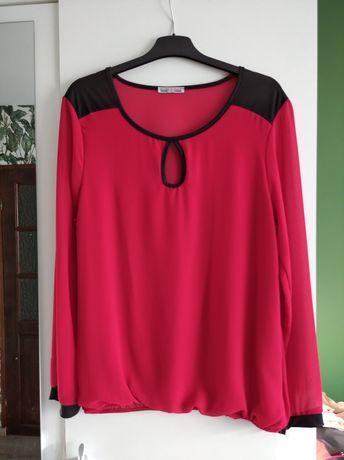 czerwona bluzka r. 40