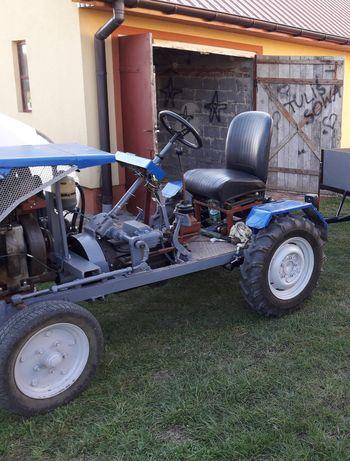 Traktor, ciągnik,  traktorek, SAM z silnikiem s301d andoria, es7,